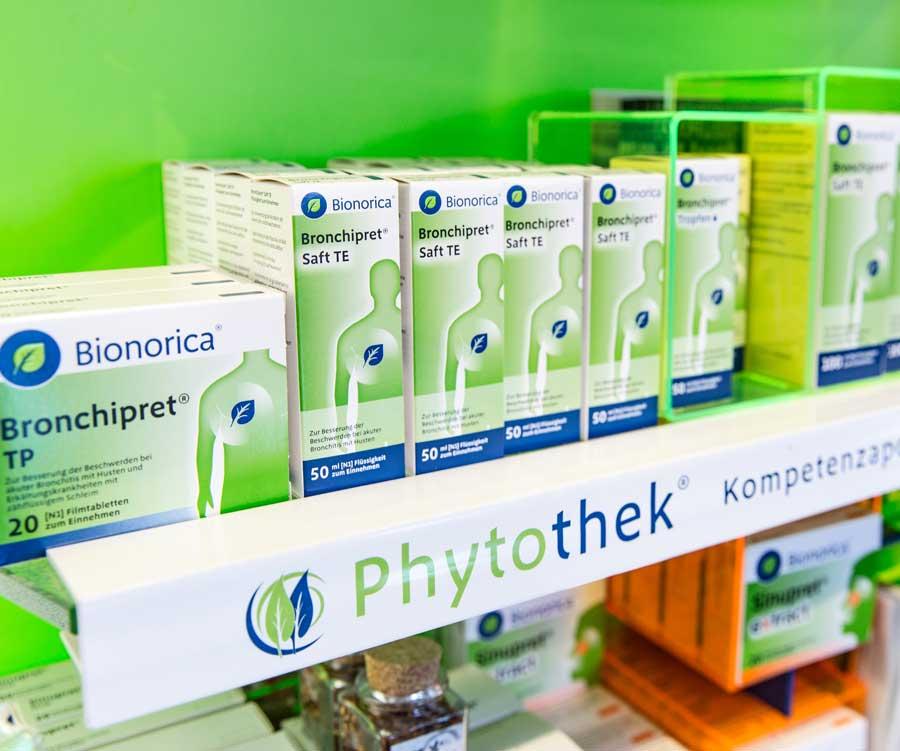 Phytothek Medizin in der Rats-Apotheke